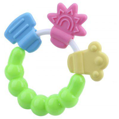 Safety Silica Gel Material Lovely Babies Molar Cirque Teether Toys