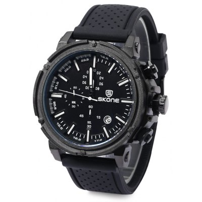 SKONE 5148EG Men Analog Quartz Wrist Watch
