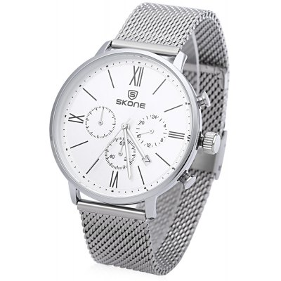 SKONE 7391 Male Quartz Watch