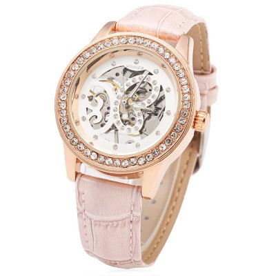 Winner F1205254 Ladies Automatic Hand-wind Movement Mechanical Wrist Watch