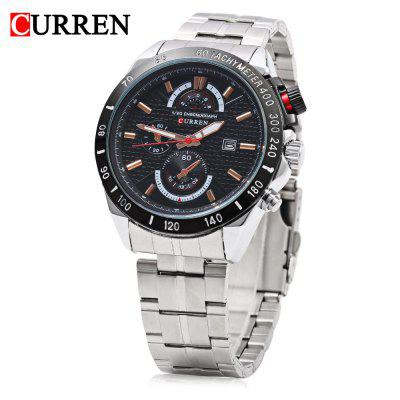 CURREN 8148 Male Quartz Watch