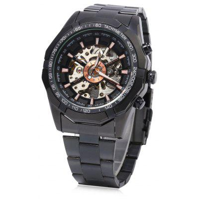 Winner F1205158 Male Automatic Mechanical Wrist Steel Strap