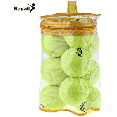 REGAIL 12pcs Tennis Training High Elasticity Ball