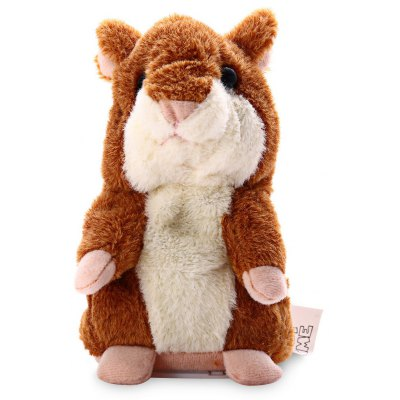 Cute Lovely Talking Hamster Stuffed Plush Toy