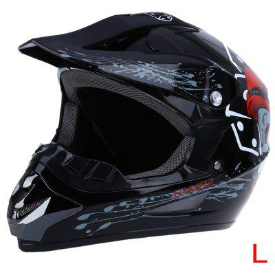 WLT - 125 Full Face Motocross Dirt Bike Racing Helmet
