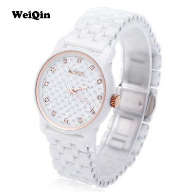 WEIQIN W3231 Women Ceramic Quartz Watch