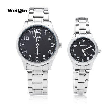 WEIQIN W00123 Couple Quartz Watch
