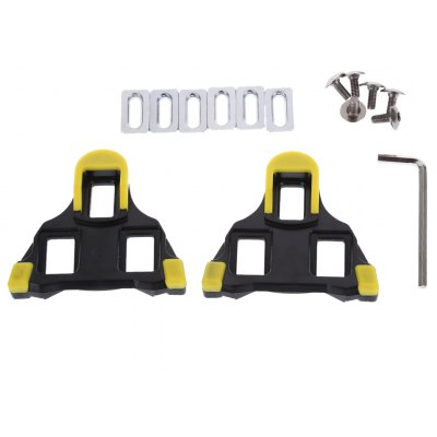 2pcs Cycling Bicycle Self-locking Bike Pedal Cleat