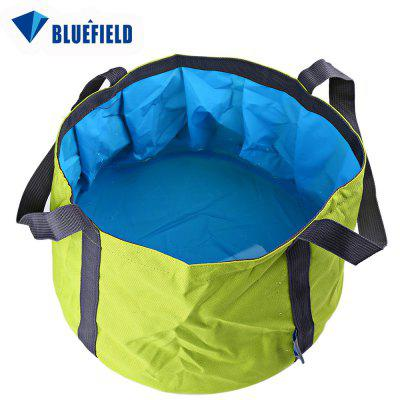 11L Bluefield Portable Folded Washbasin Washbowl Outdoor Sport Accessory