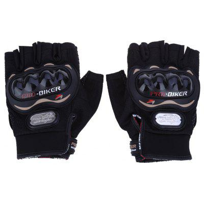 Paired Half-finger Motorcycle Gloves