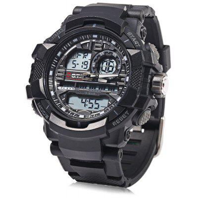 OTS 8073 Men LED Digital Analog Quartz Wristwatch