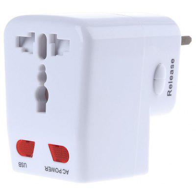 CF - 018 - 10A Worldwide Travel Power Plug Wall AC Adapter Charger