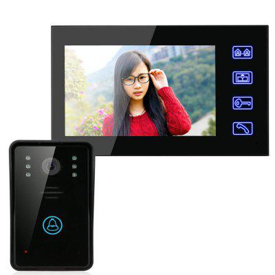 SY816A11 7 Inches Video Door Phone Intercom Doorbell  sc 1 st  GearBest : video door - pezcame.com