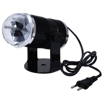 Sound Activated LED Crystal Stage Light