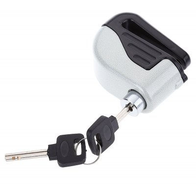 Small Disc Brakes Electron Bicycle Alarm Lock