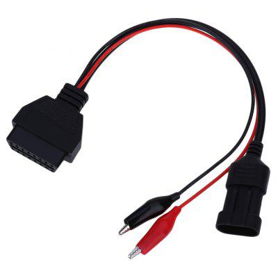 OBDII 16 Pin to 3 Pin Car Diagnostic Connector Cable