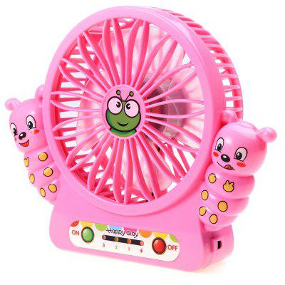 Mini Caterpillar Summer Creative Fan