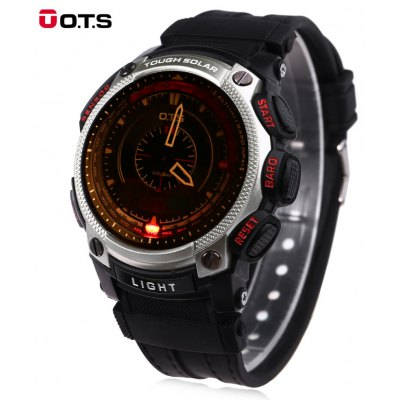 OTS 8012 Men Double Movt Digital Quartz Watch