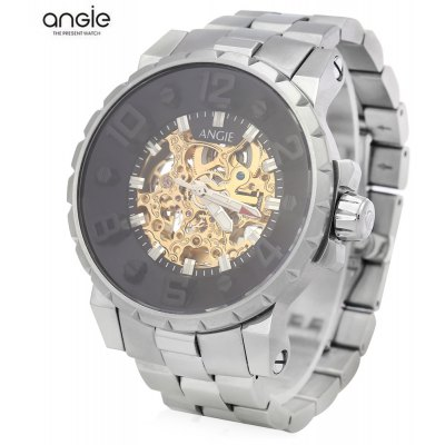 Angie ST7135M Unique Series Male Automatic Wind Mechanical Watch