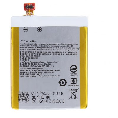 3.8V 2050mAh C11P1324 Li-ion Polymer Battery