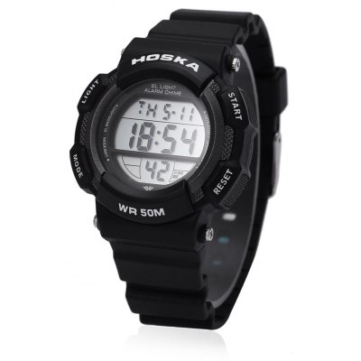 HOSKA H007S LED Digital Children Sport Watch