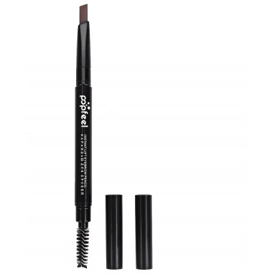 Double Headed Rotary Automatic Pencil Waterproof Long Lasting Makeup Eyebrow Pen