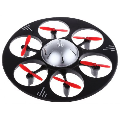 Udi U845 2.4G 4CH 6-Axis Gyro 2MP Camera RTF RC Flying Saucer Drone Toy