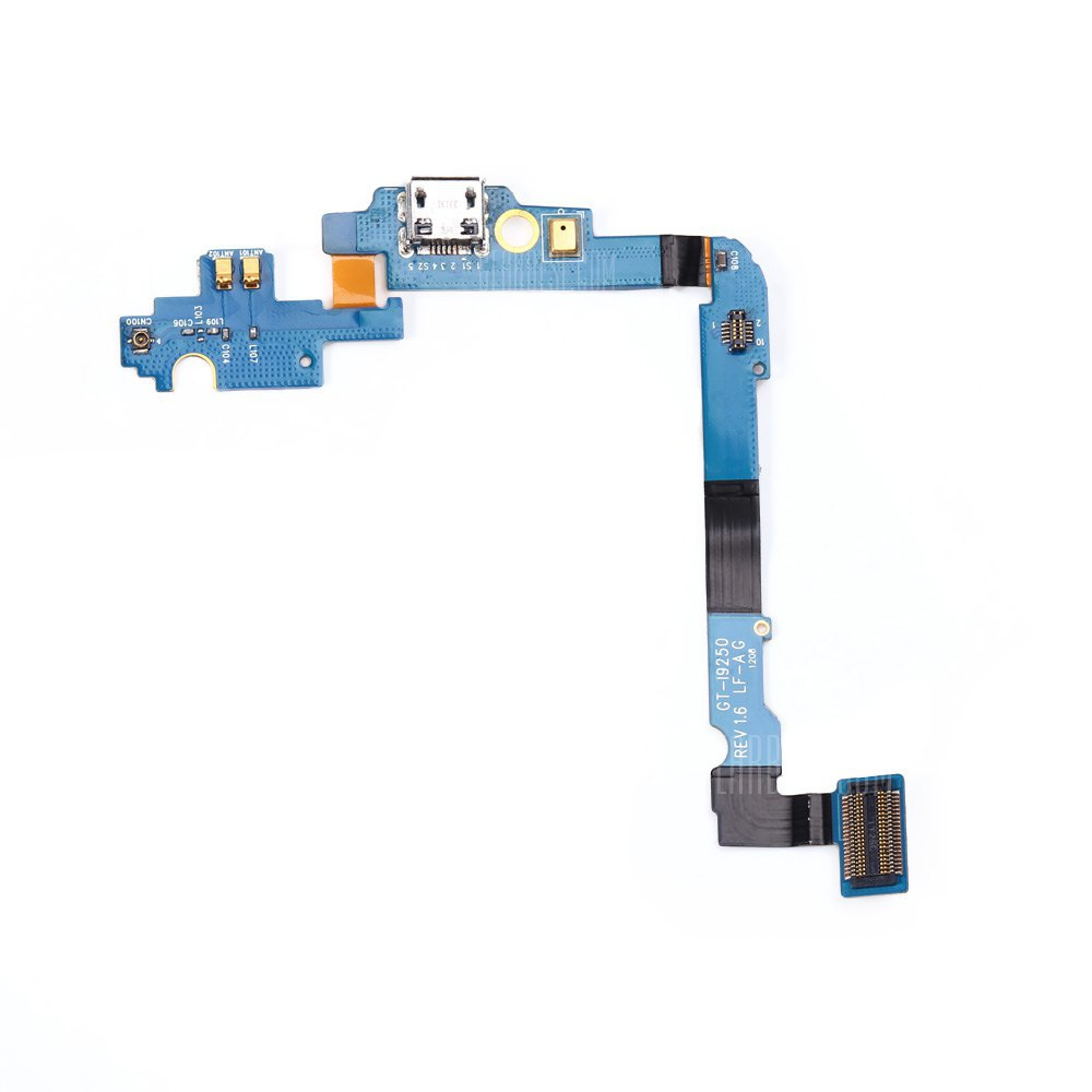 Flex Cable Microphone Usb Charger Board For Samsung Galaxy I9250 Desktop Lf