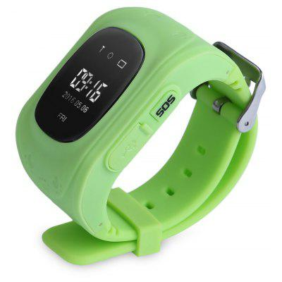 Q50 (q1213) Waterproof LCD Display Kids GPS Intelligent Watch Telephone Pedometer