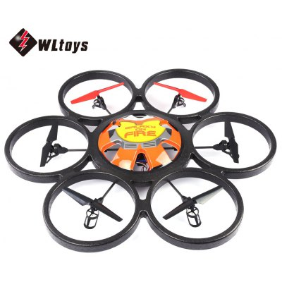WLtoys V323 2.4G 4CH 6-Axis Gyro 2MP Camera RTF RC Flying Saucer Hexacopter Toy