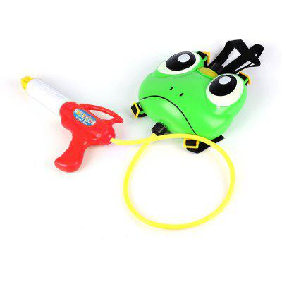 Kids Cute Frog Backpack Pressure Pump Squirt Gun Toy