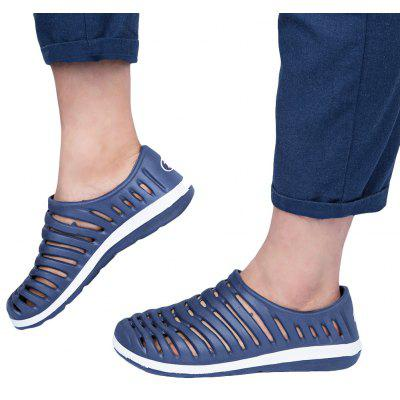 Summer Casual Lightweight Hollow Slip-On Sandal Slippers for Men