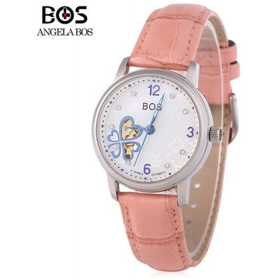 Angela Bos 9003 Women Automatic Wind Mechanical Watch