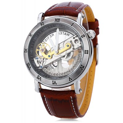 SHENHUA 9584 Men Auto Mechanical Watch