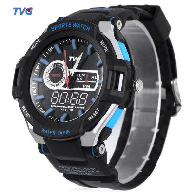 TVG 801 Male Double Movt Quartz Digital Watch