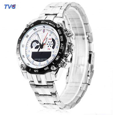 TVG 3168 Dual Movt Digital Quartz Male Military Watch