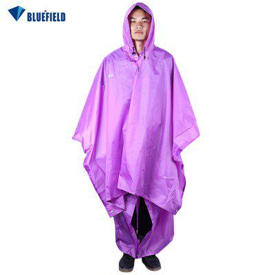 Bluefield 3 in 1 Outdoor Camping Packable Poncho Raincoat