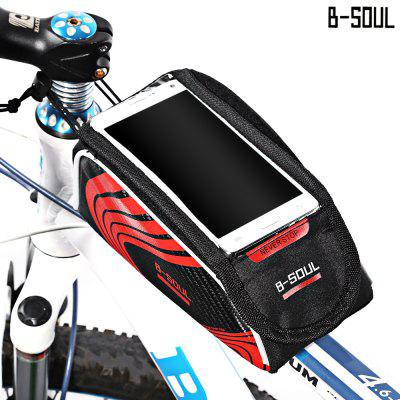 B-SOUL Bicycle Mount for 5.7 Inches Handlebar Phone Bag