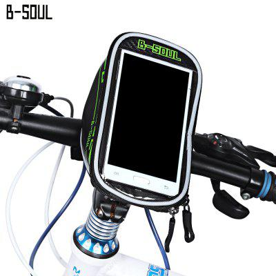 B-SOUL B - 015 Bicycle Handlebar Phone Bag 5.7 Inches Mount