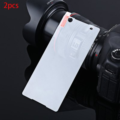 2pcs Tempered Glass Film for Sony C5