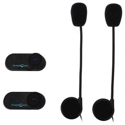 2pcs 800M Waterproof Motorcycle Bluetooth Intercom