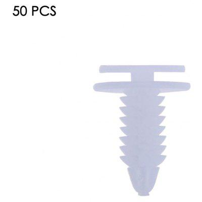 50pcs 30107 Vehicle Door Bumper Fastener Buckle