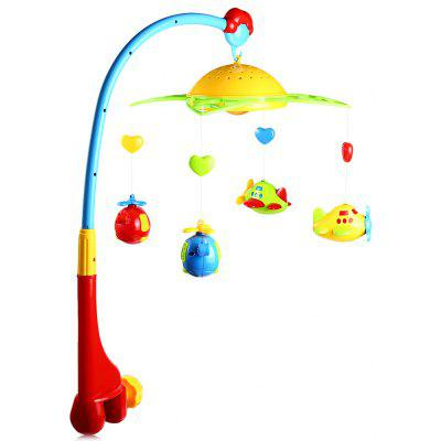 Baby Musical Star Projection Hanging Bell Toy
