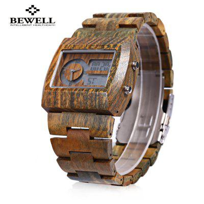 BEWELL ZS - W021A Male Dual Movt Watch