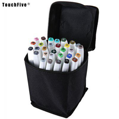 TouchFive Colors Twin Tip Pen Marker Point