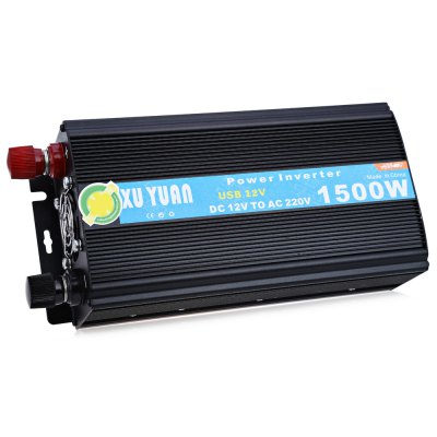 1500W DC 12V to AC 220V Car Power Inverter