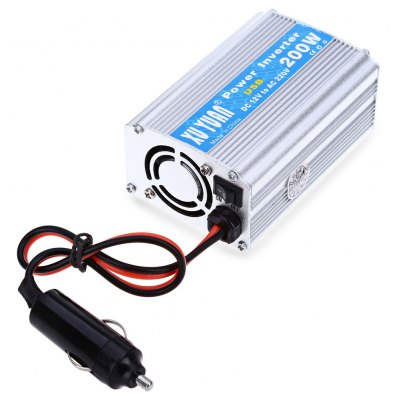 200W DC 12V to AC 220V Car Power Converter