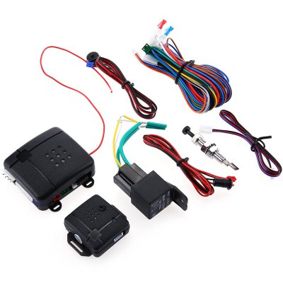 LB - 100D Universal Smart Programmable Car Alarm System