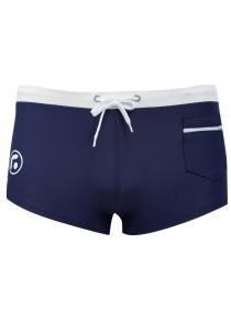 Sexy Men Drawstring Color Block Beach Wear Boxers