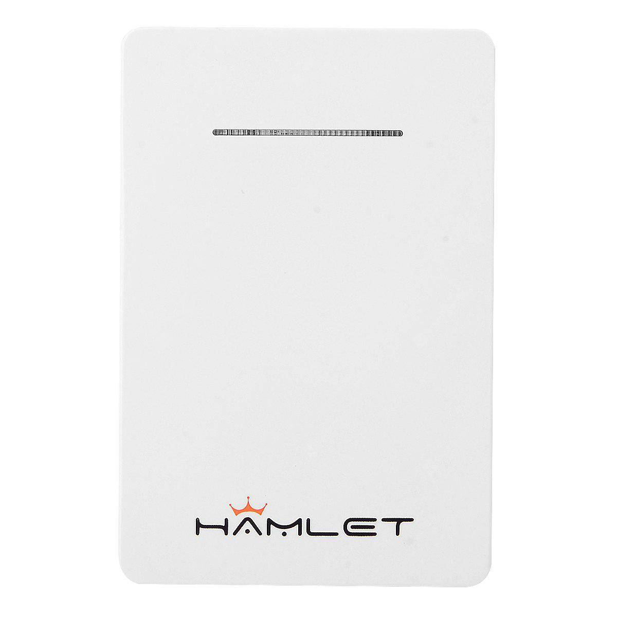 HAMLET iDualSim Power Single SIM Card Adapter Power Supply for iPhone